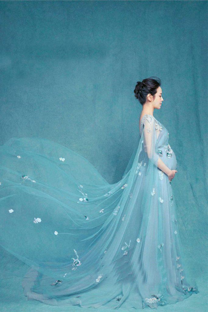 Vestido para sesión de fotos de maternidad mod VL4112
